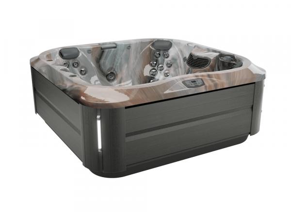 J-335 Hot Tub Smoked Ebony / Monaco 214 x 214 x 92h