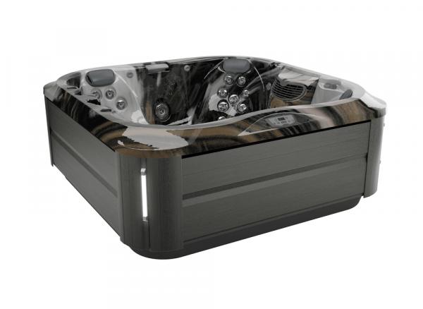 J-335 Hot Tub Smoked Ebony / Midnight 214 x 214 x 92h