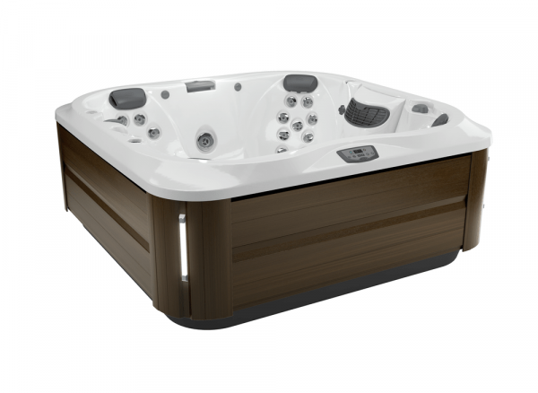 J-335 Hot Tub Modern Hardwood / Porcelain 214 x 214 x 92h