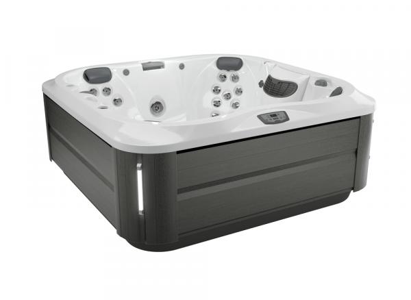 J-335 Hot Tub Smoked Ebony / Porcelain 214 x 214 x 92h