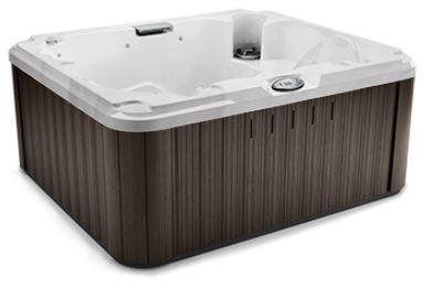 J-215 Hot Tub Platinum / Silverwood, EcoShield Insulation 193 x 168 x 81 h