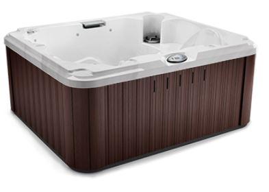 J-215 Hot Tub Platinum / Roasted Chestnut, EcoShield Insulation 193 x 168 x 81 h
