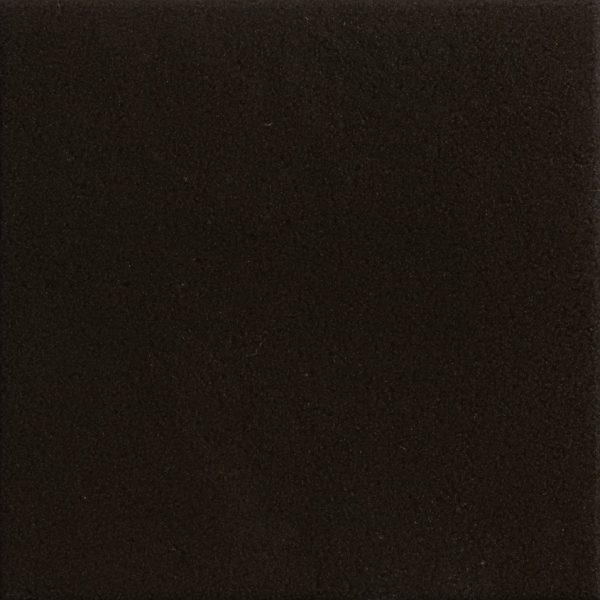 Mattonelle Margherita Marghe Black Matte 10mm 20.5 x 20.5