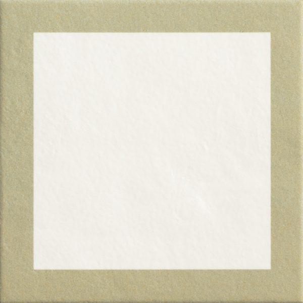 Mattonelle Margherita Square Green Matte 10mm 20.5 x 20.5
