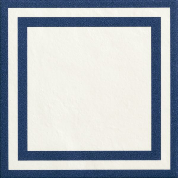 Mattonelle Margherita Square Blue Matte 10mm 20.5 x 20.5