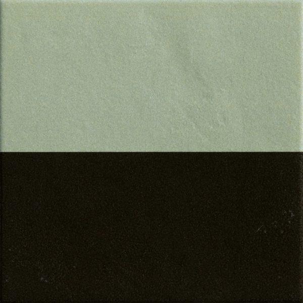 Mattonelle Margherita Black Green Matte 10mm 20.5 x 20.5