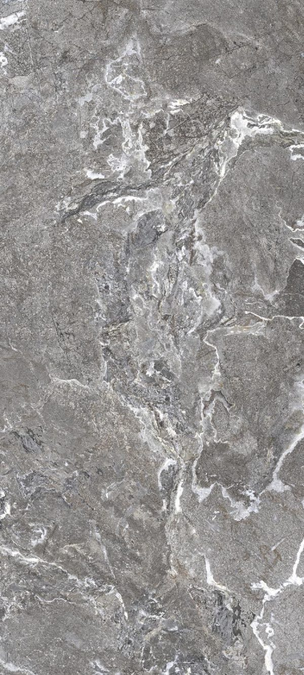 Onyx and More Silver Porphyry Slate-hammered 10mm 80 x 180