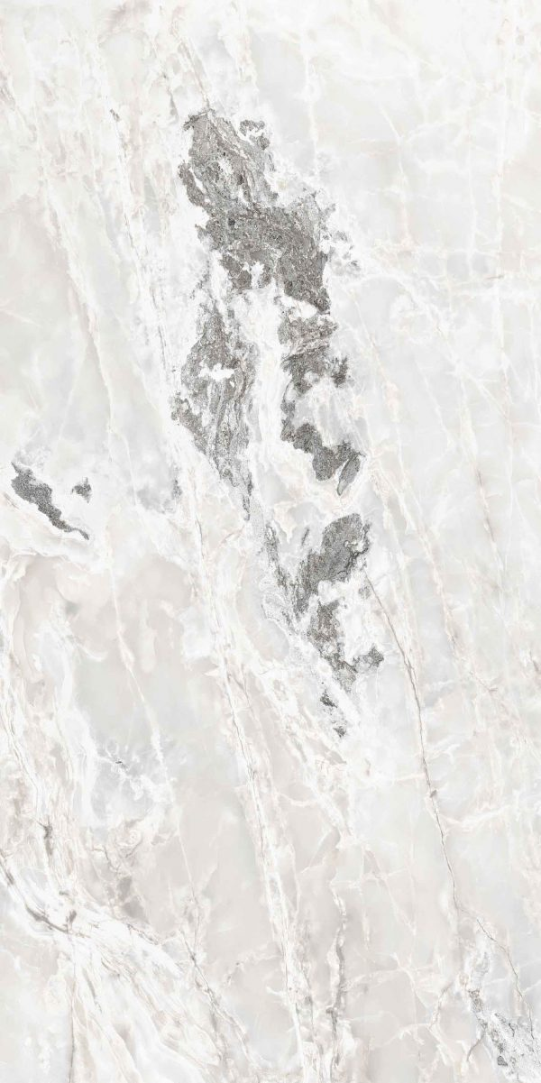 Onyx and More White Blend Glossy 10mm 60 x 120