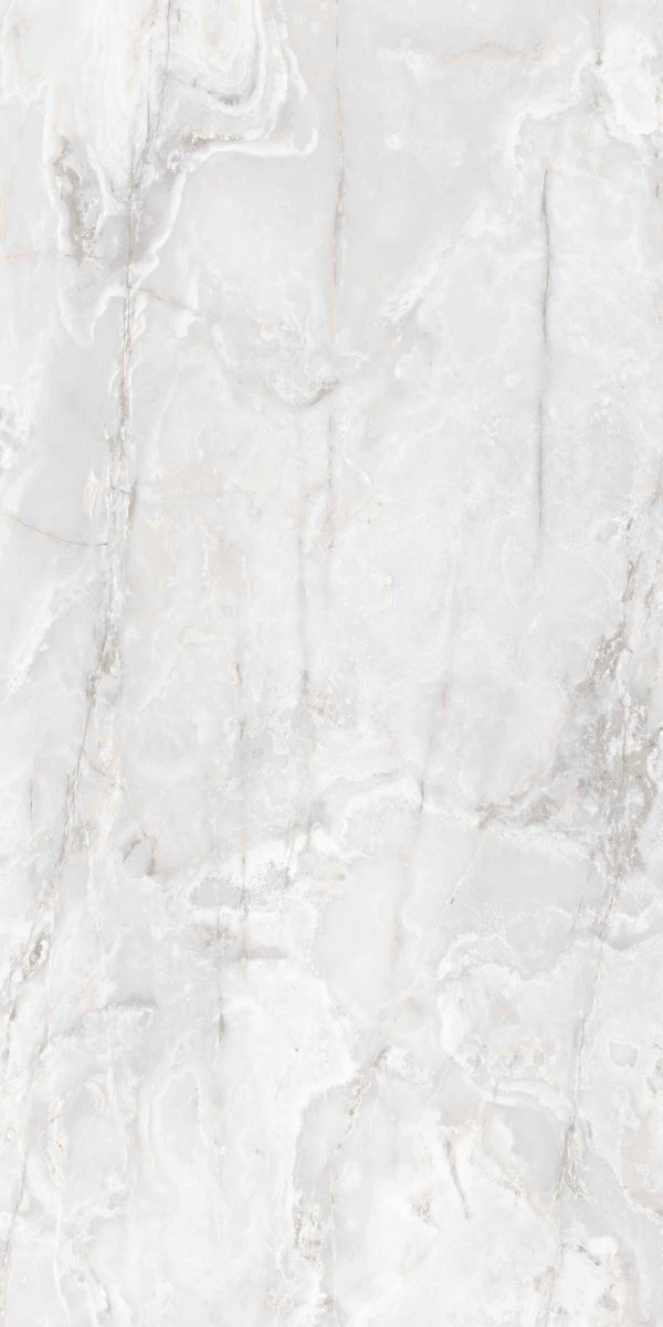 Onyx and More White Onyx Satin 6mm 120 x 240