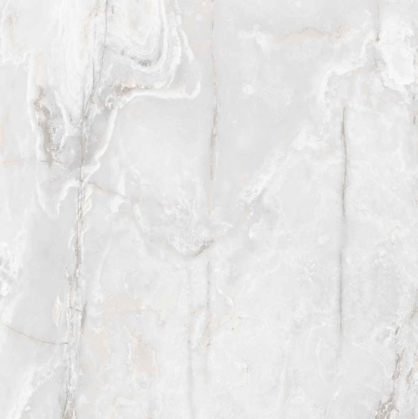 Onyx and More White Onyx Glossy 6mm 120 x 120