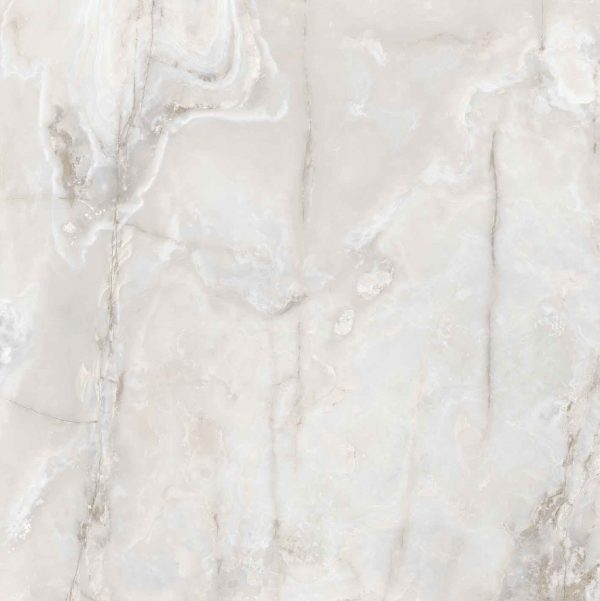 Onyx and More White Onyx Glossy 6mm 160 x 160