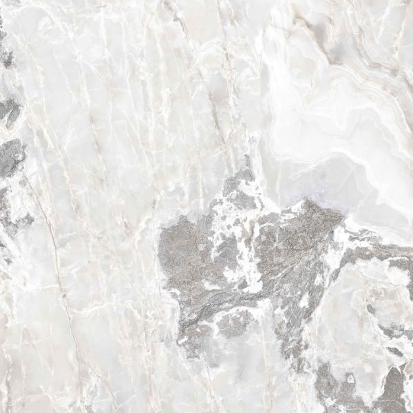 Onyx and More White Blend Glossy 6mm 160 x 160