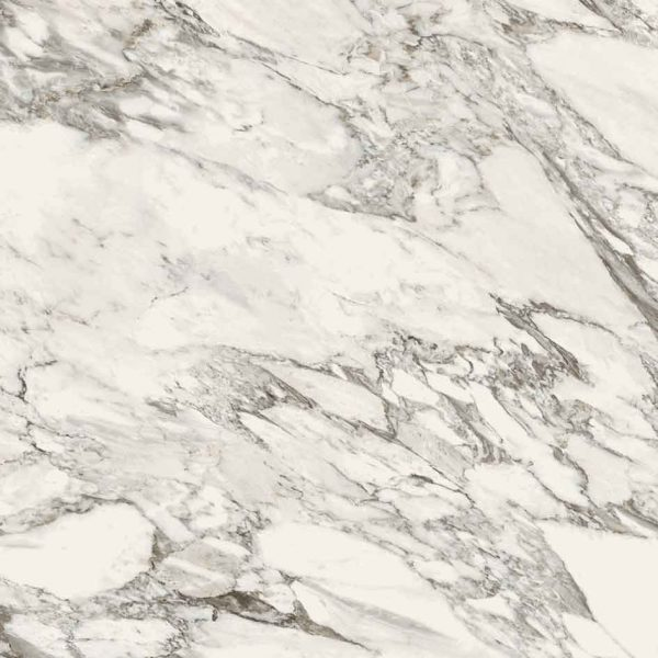 Stones and More Arabescato White Glossy 6mm 120 x 120